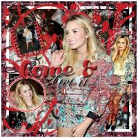 Blend Come and Get it (Demi Lovato) by Jazminswag-Editions