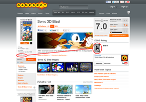 Sonic 3D Blast rating? by DA-AuoraVirus