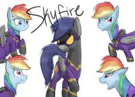 Skyfire the Clone by Crystal-Eclair