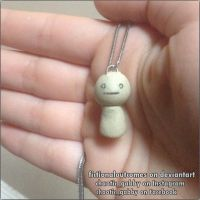 First Ever Hand-Made Clay Charm! (cryaotic) by fictionaloutcomes