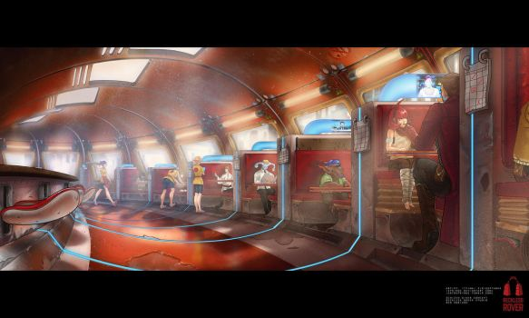 Schizen Diner Concept by Springs