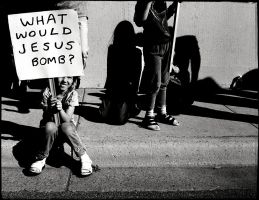 What would Jesus bomb? by knimmo