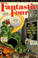 Fantastic Four No. 1 Cover by PaulSizer