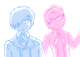 Persona 3 Portable Heroes by Ratth