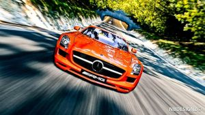 Mercedes-Benz SLS AMG the base by daharid