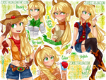 Human-Applejack-Thing by Zorbitas