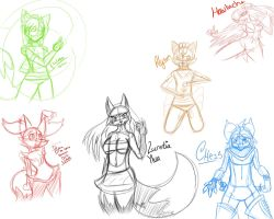 Stream Sketches 12-2-2013 by xDracariox