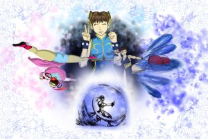 CHUN LI CLUB  90,000: CONTEST ENTRY by taurence