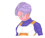 Future Trunks, the warrior of the future by Demon653