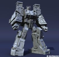 Ultra Magnus Clay Render 01 by Venksta