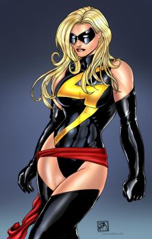 Ms Marvel by KRThompsonART