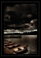 The Lake Pier by Jurnov
