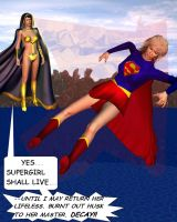 Supergirl and Psi by CaptainZammo