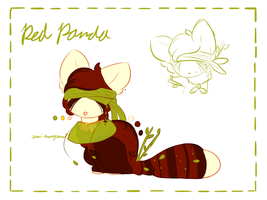 Red Panda .:DRAW TO ADOPT:. by Featherwishes