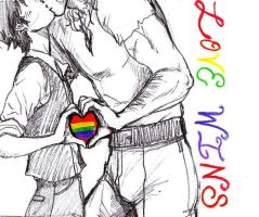 Love Wins by Longitudes-Latitudes