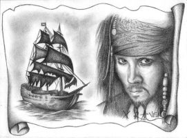 Jack Sparrow by provodkative