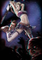 Lollypop Chainsaw 3-D conversion by MVRamsey
