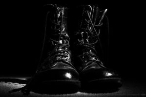 Boots of War by SnipePhotography