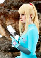 Zero Mission: Zero Suit 2 by HayleyElise