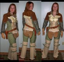 Gunslinger Rogue by sewingbikergirl