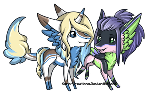 Micro Commission: EvanEverAfter by Kuro-Creations