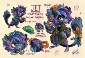 Jet Ref. Sheet [Commission w/ Outfit Design] by Baraayas