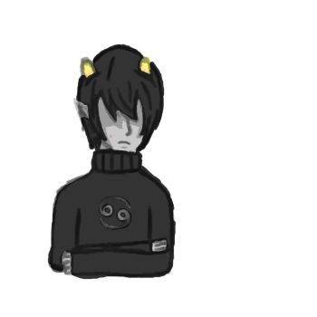 Sad Karkat by Fandom-Trash-Tbh