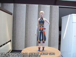slender papercraft Skyward Impa by ninjatoespapercraft