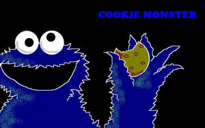 The Cookie Monster by polidread