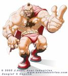 Zangief by JayAxer