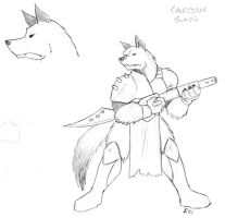 Canisian Warrior by phoenixsamurai