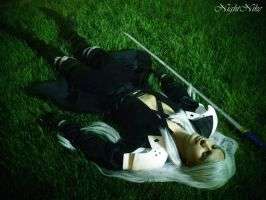 Sleeping Sephy by NightNike