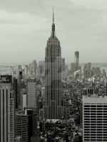 view from top of the rock by NiVosta