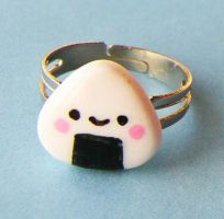Onigiri Rice Ball Ring by AsianBunni