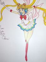 Super Sailor Moon by luella-golightly