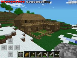 Minecraft PE House by Timprestianni