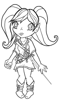 chibi gnome for zb by RevRuby
