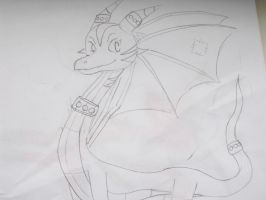 my own dragon design 1. by Princess-Shannen