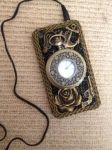 Steampunk Iphone case by A-R-T-3-M-I-S