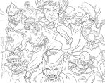Frieza Saga Collage by robnix