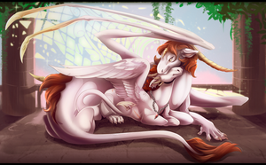 Mother and Son by DrakeTheAngel