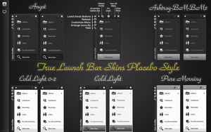 Placebo style skins for True Launch Bar (TLB) by odyseus77