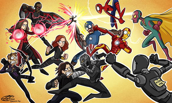 Civil War: Fight of the Year by xxiiCoko