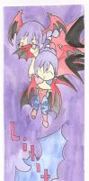Darkstalkers: Lilith Bookmark by ladykayra