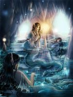 The grotto of eels by gppr