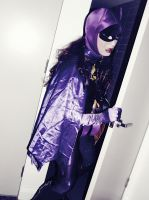 66 Batgirl Cosplay Photo Story Chapter 3 - Exit by ozbattlechick
