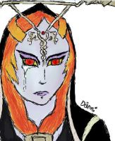 Midna Sheds a Tear by DanniGoodberry