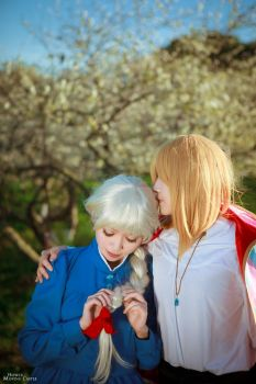 Howl and Sophie by BunnyTuan