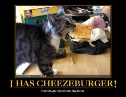 Cheezeburger by redkintoba