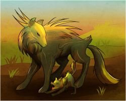 Fern Hounds by Capreola